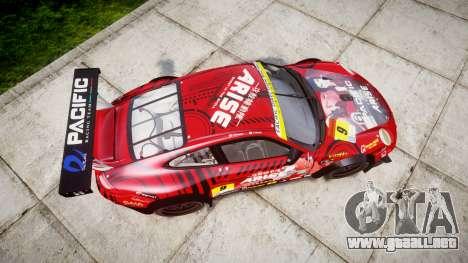 Porsche 911 Super GT 2013 para GTA 4 visión correcta