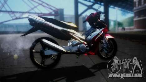 Yamaha Jupiter Mx para GTA San Andreas left