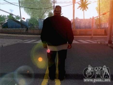 New Ballas Skin 1 para GTA San Andreas segunda pantalla