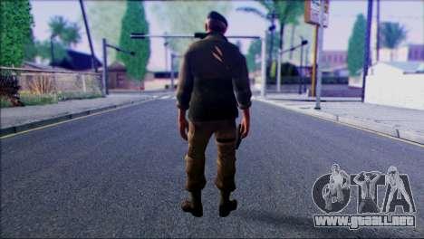 Left 4 Dead Survivor 4 para GTA San Andreas segunda pantalla
