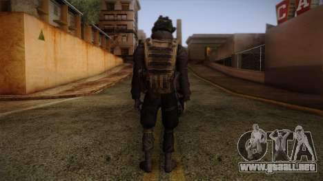 Modern Warfare 2 Skin 1 para GTA San Andreas segunda pantalla