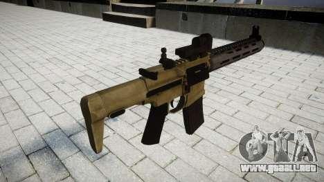Rifle de asalto AAC Tejón de Miel para GTA 4 segundos de pantalla