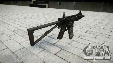 Pistola de KAC PDW para GTA 4 segundos de pantalla