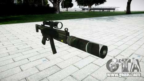 Táctica subametralladora MP5 para GTA 4