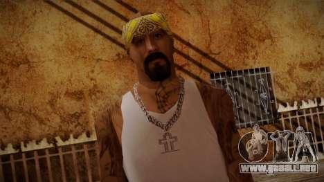 Fresno Buldogs 14 Skin 3 para GTA San Andreas tercera pantalla