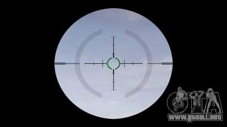 Táctica subametralladora MP5 destino para GTA 4 tercera pantalla
