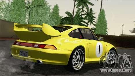 Porsche 911 GT2 (993) 1995 [HQLM] para vista lateral GTA San Andreas