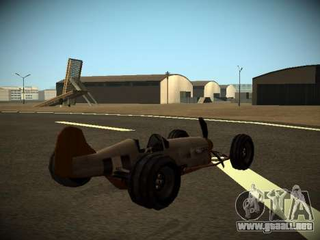 Rustler Varilla Beta para GTA San Andreas left