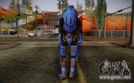 Garrus Helmet from Mass Effect 2 para GTA San Andreas segunda pantalla