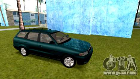Daewoo Nubira me Vagón CDX NOSOTROS 1999 para GTA San Andreas vista hacia atrás