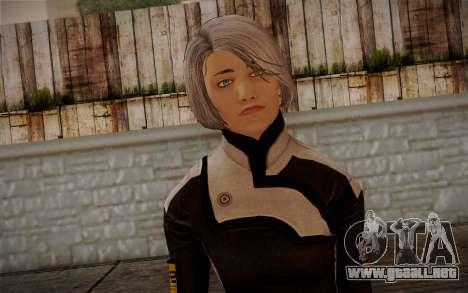 Karin Chakwas from Mass Effect para GTA San Andreas tercera pantalla
