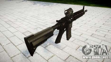 Máquina HK416 AR para GTA 4 segundos de pantalla