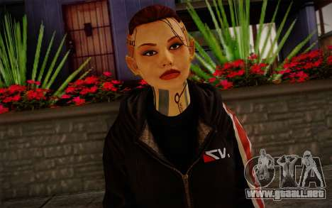 Jack Hood from Mass Effect 3 para GTA San Andreas tercera pantalla