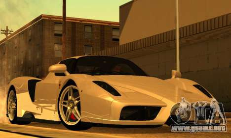 ENB Series para bajos PC 2.0 para GTA San Andreas