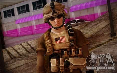 Brady from Battlefield 3 para GTA San Andreas tercera pantalla