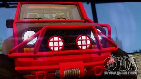 GTA 5 Mesa MerryWeather para la visión correcta GTA San Andreas