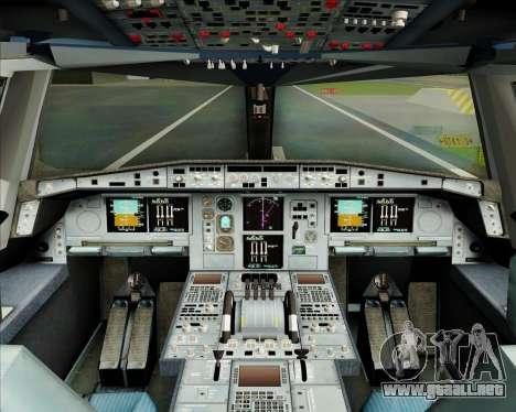 Airbus A380-800 Garuda Indonesia para GTA San Andreas interior