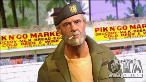 Left 4 Dead Survivor 4 para GTA San Andreas tercera pantalla