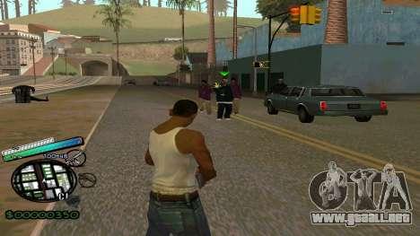 C-HUD New Style para GTA San Andreas