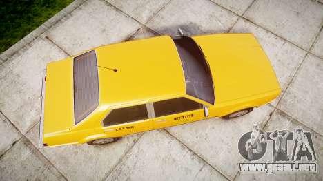 Albany Esperanto Taxi para GTA 4 visión correcta