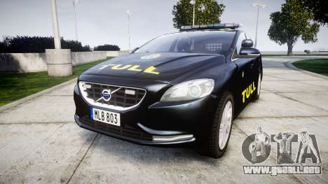 Volvo V40 Swedish TULL [ELS] para GTA 4