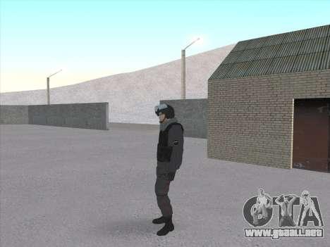 Los soldados de la MIA de la Federación de rusia para GTA San Andreas tercera pantalla