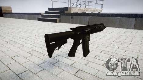Máquina HK416 para GTA 4 segundos de pantalla