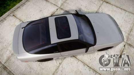Nissan 240SX SE S13 1993 para GTA 4 visión correcta