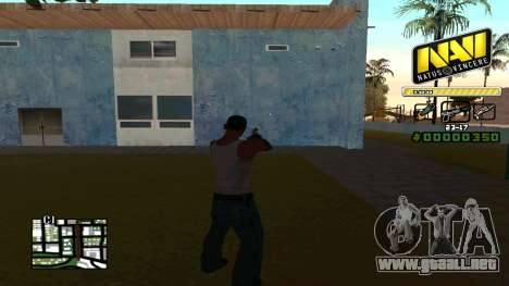 C-HUD NaVi para GTA San Andreas segunda pantalla