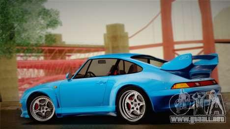 Porsche 911 GT2 (993) 1995 para GTA San Andreas vista hacia atrás