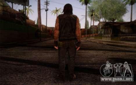 Francis from Left 4 Dead Beta para GTA San Andreas segunda pantalla