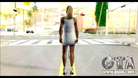 Ginos Ped 40 para GTA San Andreas segunda pantalla