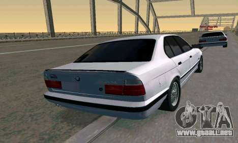 BMW 525 Turbo para GTA San Andreas left