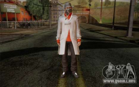 Aiden Pearce from Watch Dogs v1 para GTA San Andreas