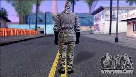 Outlast Skin 5 para GTA San Andreas segunda pantalla
