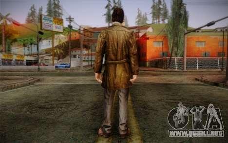 Harry Mason From SH: Shattered Memories para GTA San Andreas segunda pantalla