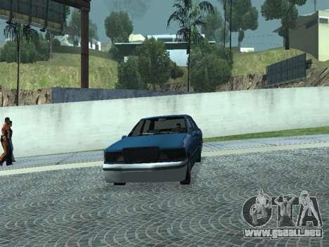 Beta Elegant para GTA San Andreas vista hacia atrás