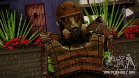 Army Exoskeleton para GTA San Andreas tercera pantalla