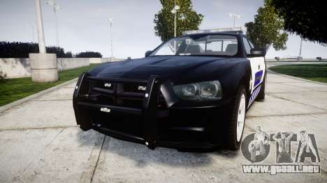 Dodge Charger RT 2014 Sheriff [ELS] para GTA 4
