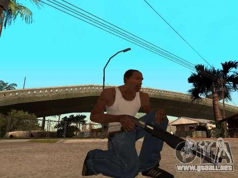 Franchi SPAS-12 para GTA San Andreas segunda pantalla