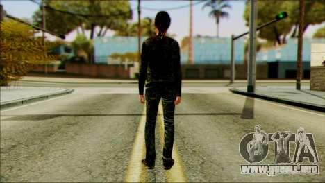 Ellie from The Last Of Us v2 para GTA San Andreas segunda pantalla