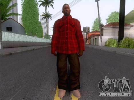 New Fam Skin 1 para GTA San Andreas