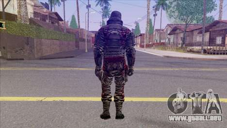 Outlast Skin 6 para GTA San Andreas segunda pantalla
