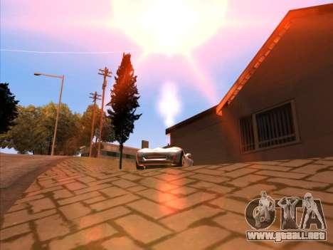 Sunset ENB para GTA San Andreas sucesivamente de pantalla