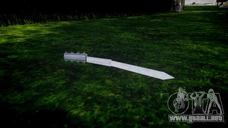 Hidden Blade para GTA 4 segundos de pantalla