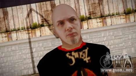 Phil Anselmo Skin para GTA San Andreas tercera pantalla