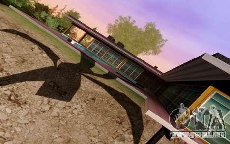 Krevetka Graphics v1.0 para GTA San Andreas sucesivamente de pantalla
