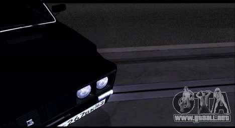 VAZ 2106 Chernysh para la visión correcta GTA San Andreas