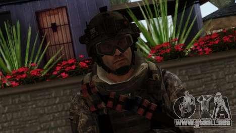 Modern Warfare 2 Skin 8 para GTA San Andreas tercera pantalla