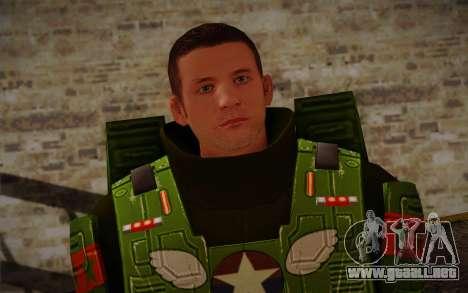 Space Ranger from GTA 5 v3 para GTA San Andreas tercera pantalla